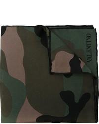 Valentino Garavani Camouflage Pocket Square