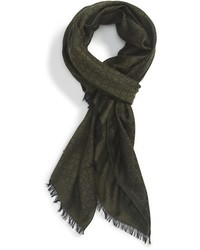 Gandam wool cashmere silk scarf medium 370386