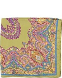 Etro Paisley Pocket Square