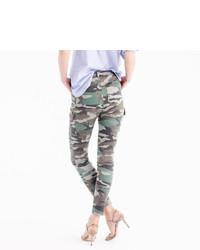 97290a83b1 J.Crew 9 Cargo Toothpick Pant In Camo Print, $98 | J.Crew ...