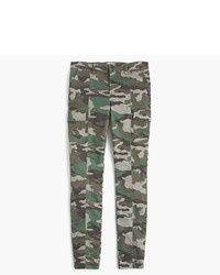 J.Crew Tall9 Cargo Toothpick Pant In Camo Print