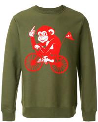 Paul Smith Ps By Monkey Print Sweatshirt