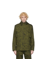 Givenchy Khaki Astral Military Jacket