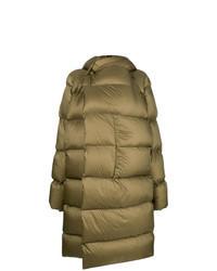 Olive Puffer Coat