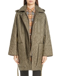Burberry Coleraine Quilted Drawstring Jacket