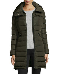 Flammette long puffer jacket medium 708624