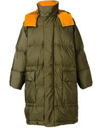 Stella McCartney Hooded Puffer Coat