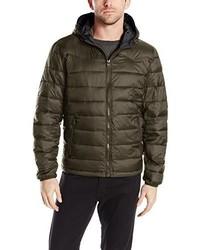 Levi's Nylon Lightweight Hooded Puffer Jacket