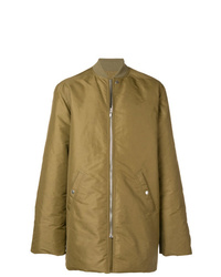 Rick Owens Long Sleeved Padded Jacket