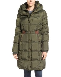 Quilted down feather fill coat medium 784940