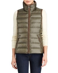 Quilted down vest medium 4950644