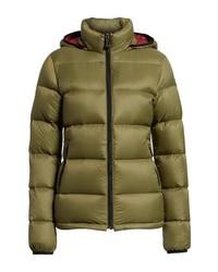 Olive puffer jacket original 4181666