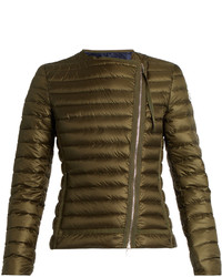 Moncler Amy Asymmetric Quilted Down Jacket