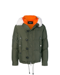 DSQUARED2 Button Padded Jacket