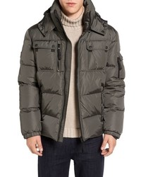 Commander down jacket with removable hood medium 844146