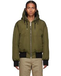 Givenchy Green Black Down 4g Jacket