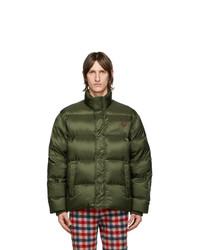 Gucci Green Down Coat