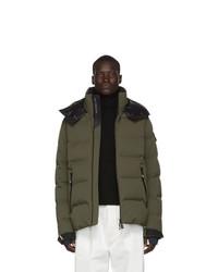 MONCLER GRENOBLE Green Down Montgetech Puffer Jacket