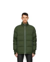 Kenzo Green Puffer Jacket