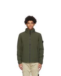 Stone Island Green Soft Shell R Jacket
