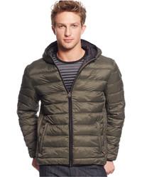 Levi's Lightweight Packable Puffer Hoodie Jacket
