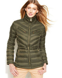 a24cc75ca95 MICHAEL Michael Kors Michl Michl Kors Packable Quilted Cinchable Down  Puffer Coat
