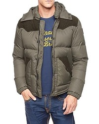 True Religion Puffer Jacket With Contrast Detail