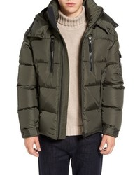Quilted down jacket medium 844143