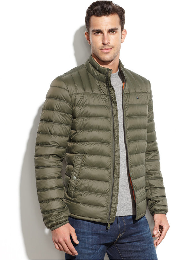Tommy Hilfiger Quilted Packable Down Puffer | Where to buy & how ...