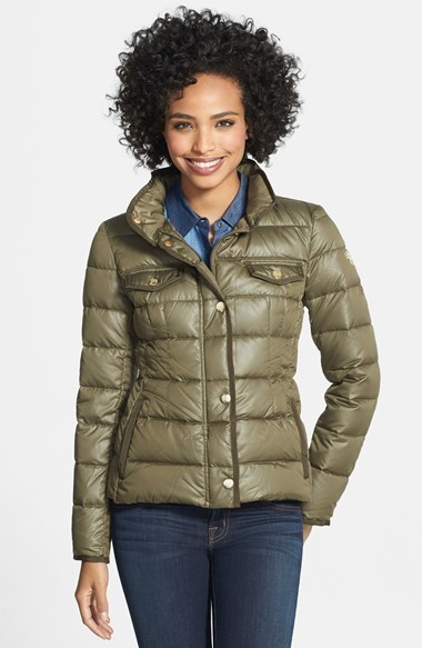 Vince Camuto Short Down Jacket With Stowaway Hood | Where to buy ...