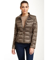 Vince Camuto Short Down Puffer Jacket | Where to buy &amp how to wear