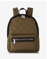 Express Quilted Satin Backpack
