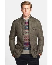 Northfield waxed quilted sport coat jacket medium 111407