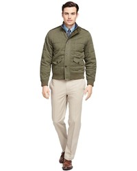 Brooks brothers quilted bomber jacket medium 575512