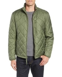 6a9a0de23 Olive Quilted Bomber Jackets for Men | Men's Fashion | Lookastic.com