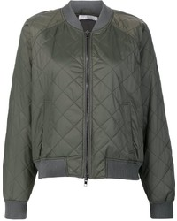 Vince quilted bomber jacket medium 923043