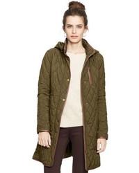 Lauren Ralph Lauren Hooded Quilted Coat