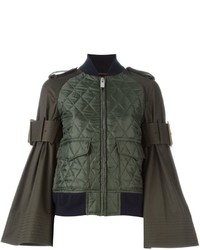 Sacai Quilted Bomber Jacket
