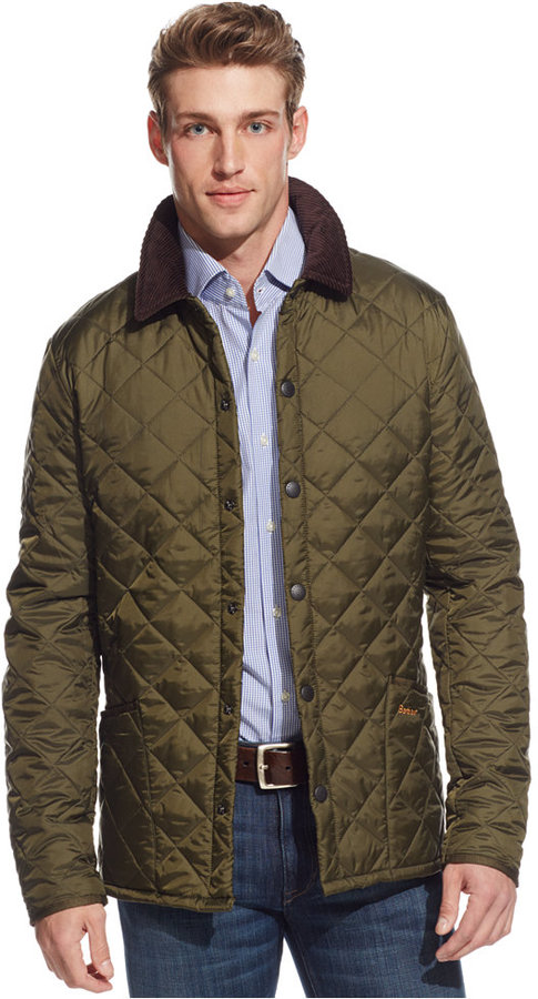 ... Olive Quilted Field Jackets Barbour Heritage Liddesdale Jacket ... 569ff1791