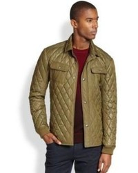Vince Quilted Cpo Jacket