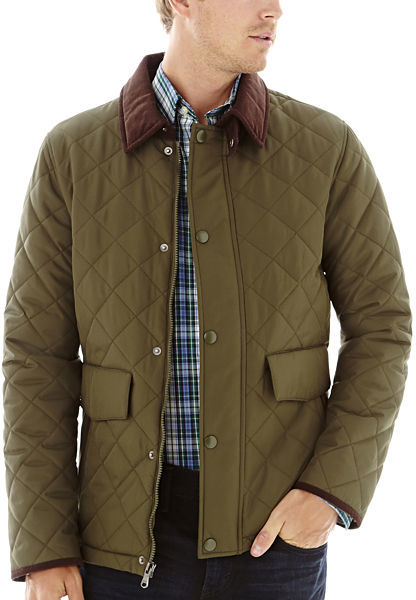 Izod Quilted Field Jacket Where To Buy How To Wear