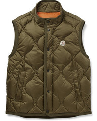 Moncler Canut Quilted Shell Down Gilet