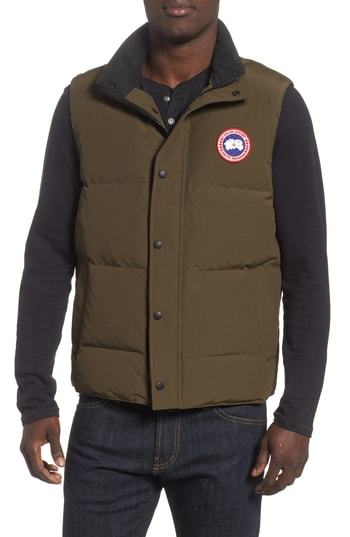 4ca3756f050db9 Canada Goose Garson Regular Fit Quilted Down Vest, $425 | Nordstrom ...