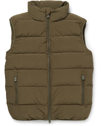 Quilted shell down gilet medium 760592