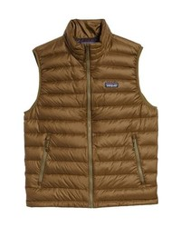 Windproof water resistant 800 fill power down quilted vest medium 8834112