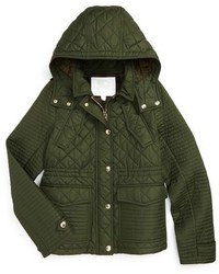 Burberry Girls Nealsbrooke Quilted Jacket