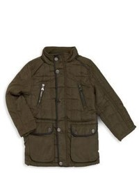 Urban Republic Little Boys Quilted Long Sleeve Jacket
