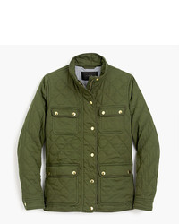 J.Crew Petite Quilted Downtown Field Jacket