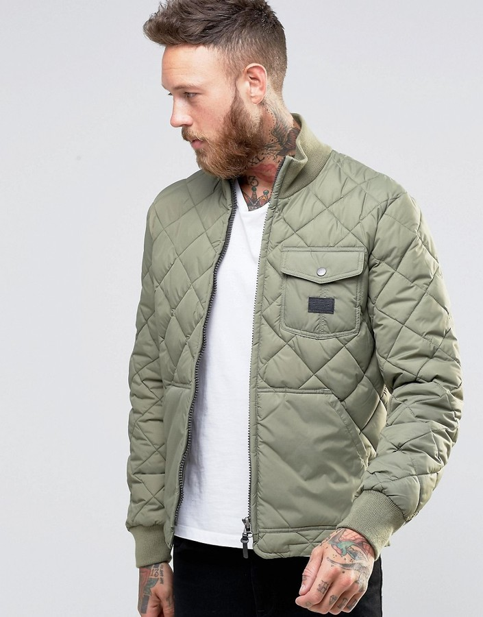 Lee Quilted Jacket Lichen Green Where To Buy How To Wear