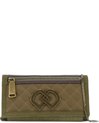 Dsquared2 Quilted Dd Clutch